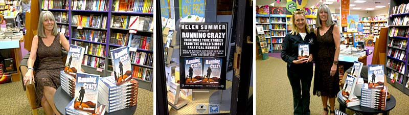 helen summer - running crazy - signing session at waterstones poole